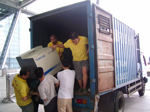 北京房山区搬运装卸现场