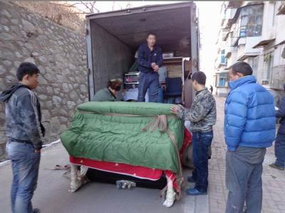 北京通州区搬运装卸现场