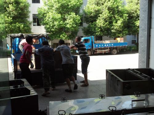 北京丰台区搬运装卸现场
