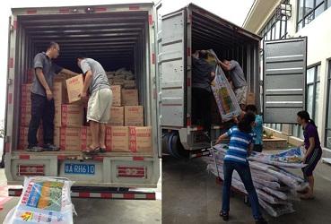 货品装车需要考虑充分利用车内空间